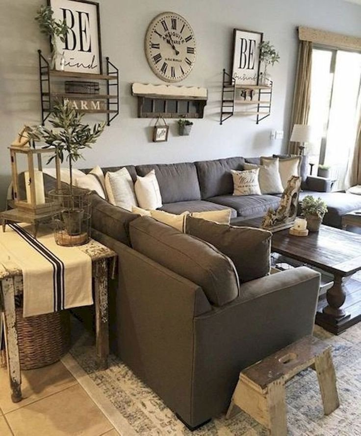 Modern Farmhouse Living Room Decor Home Decorating Ideas Farmhouse Gorgeous 60 Cozy Modern