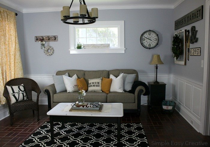 Modern Farmhouse Living Room Decorating Ideas Modern Farmhouse Living Room Makeover Hoosier Homemade