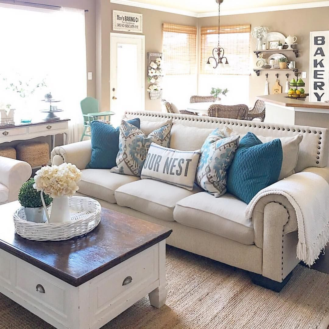 Modern Farmhouse Living Room Decorating Ideas Pin by Tasha Valentine On for the Home