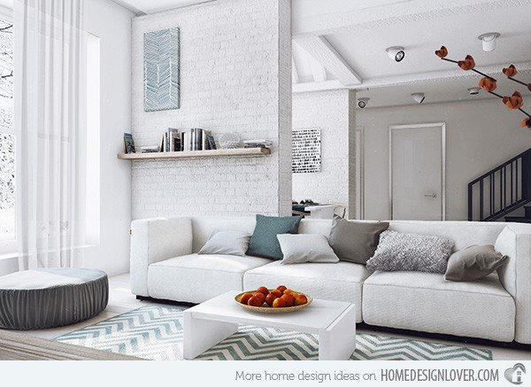 Modern Grey Living Room Decorating Ideas 15 Modern White and Gray Living Room Ideas Living Room