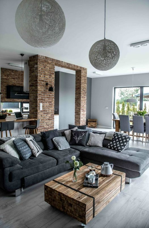 Modern Grey Living Room Decorating Ideas Shades Gray the nordic Feeling