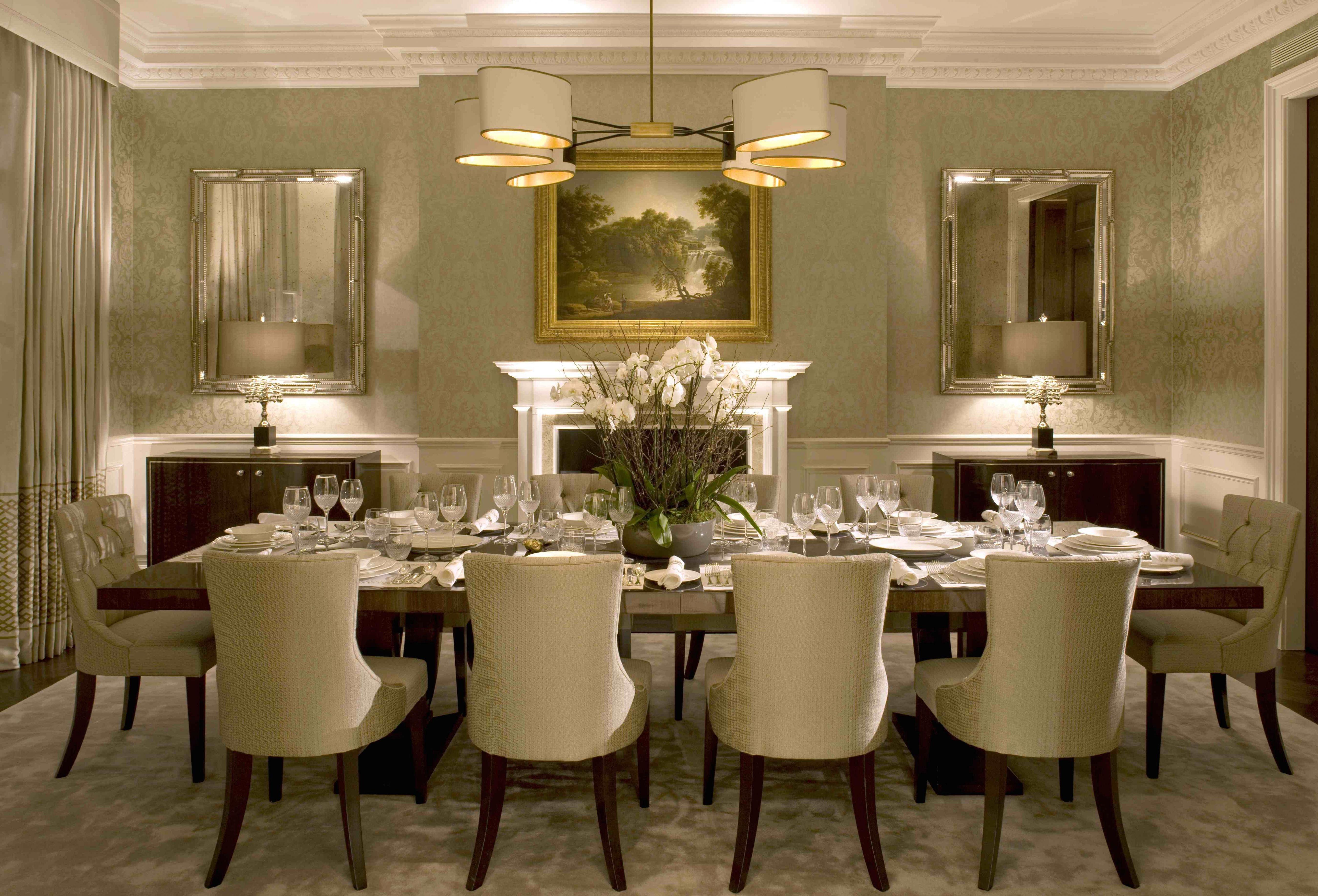 Modern Living Dining Room Decorating Ideas Alluring formal Dining Room Ideas Your Residence Idea