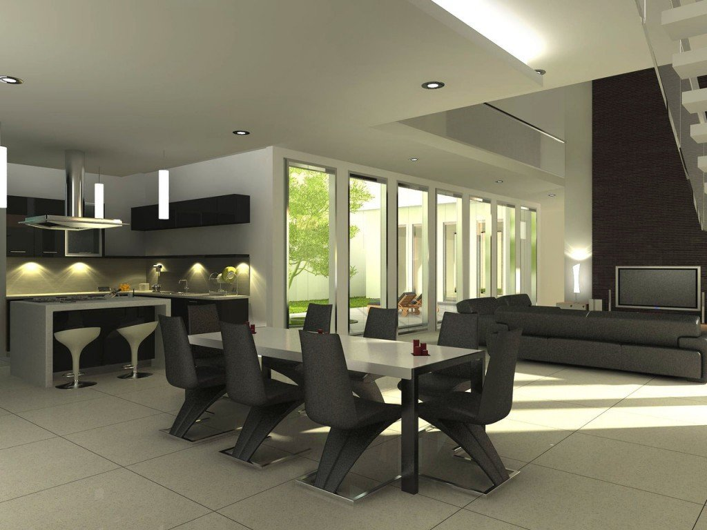 Modern Living Dining Room Decorating Ideas Dining Room Ideas Modern Dining Room