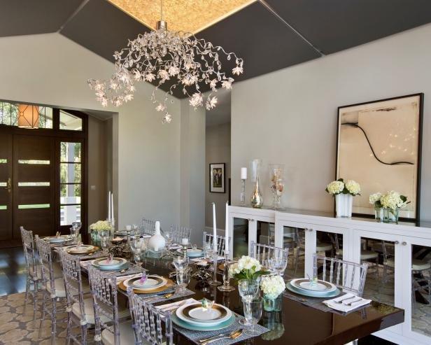 Modern Living Dining Room Decorating Ideas Dining Room Lighting Designs