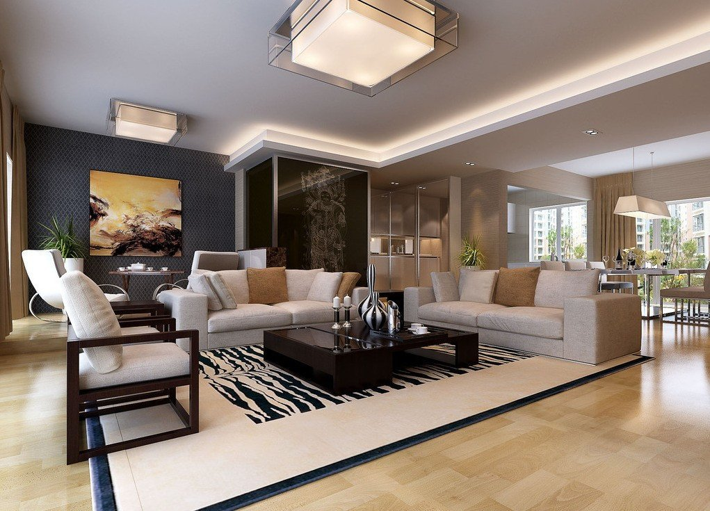 Modern Living Dining Room Decorating Ideas Home Decoration In Mumbai Home Makers Interior