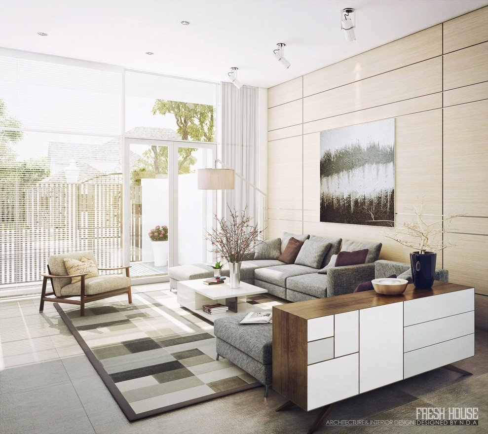 Modern Living Room Decor Ideas Light Filled Contemporary Living Rooms