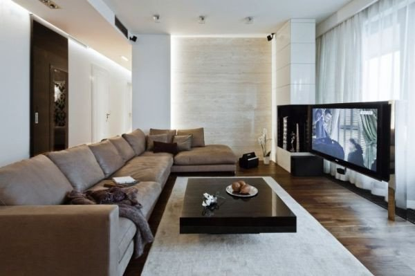 Modern Living Room Decorating Ideas Apartments A Modern Apartment In Poland with A Warm Interior and An