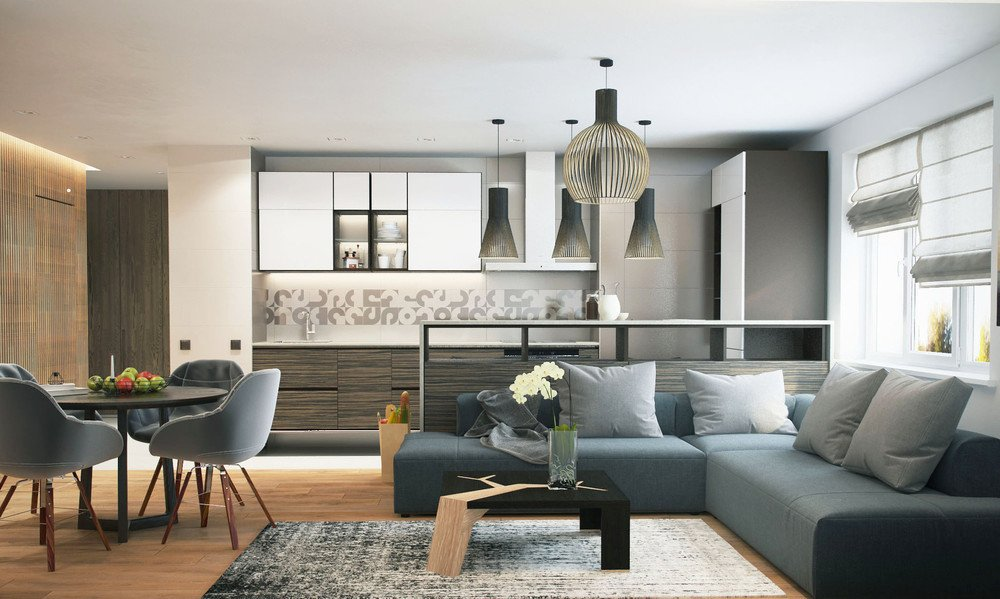 Modern Living Room Decorating Ideas Apartments Classy Studios with Subtle Stylish Accents