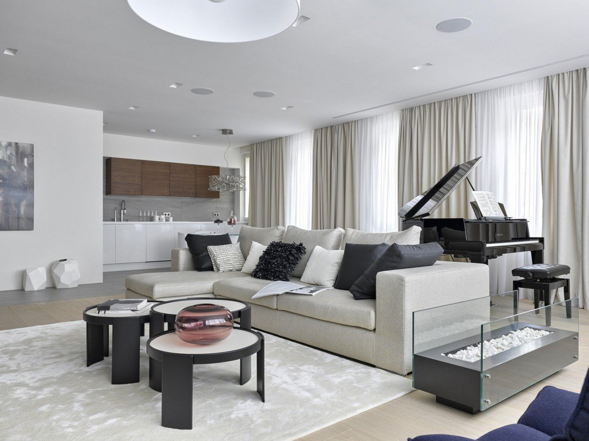 Modern Living Room Decorating Ideas Apartments Room Ideas Luxury Apartment Design by Alexandra Fedorova