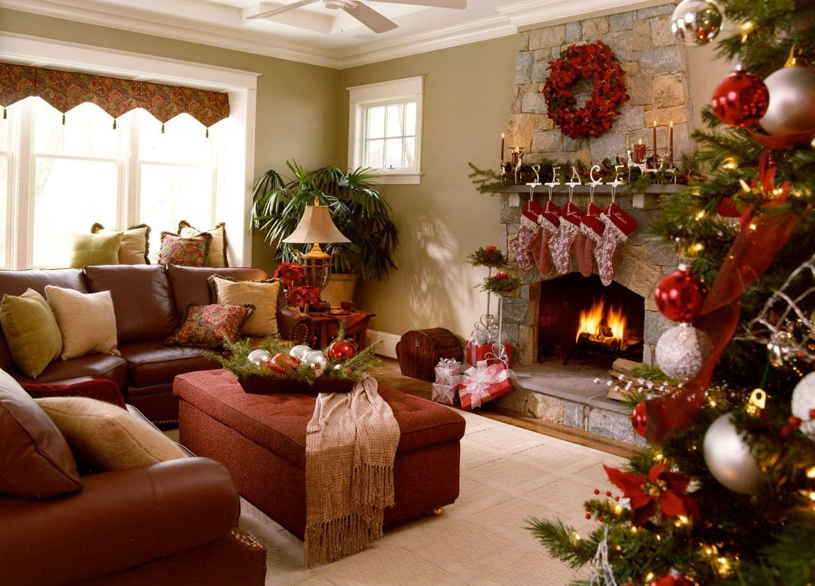 Modern Living Room Decorating Ideas Christmas 40 Fantastic Living Room Christmas Decoration Ideas All