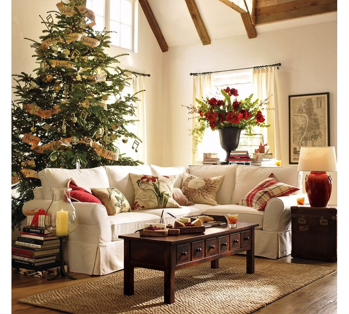 Modern Living Room Decorating Ideas Christmas 50 Stunning Christmas Decorations for Your Living Room