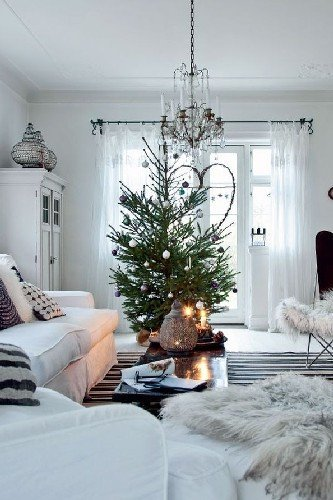 Modern Living Room Decorating Ideas Christmas Modern Christmas Decorating Ideas for Your Living Room