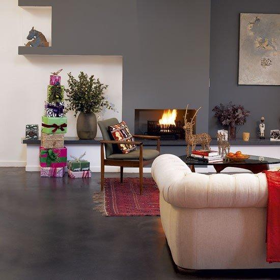 Modern Living Room Decorating Ideas Christmas Snug Living Room Kitchen Diner