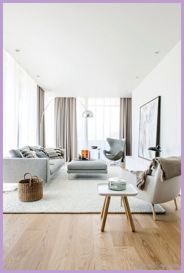 modern living room curtains ideas