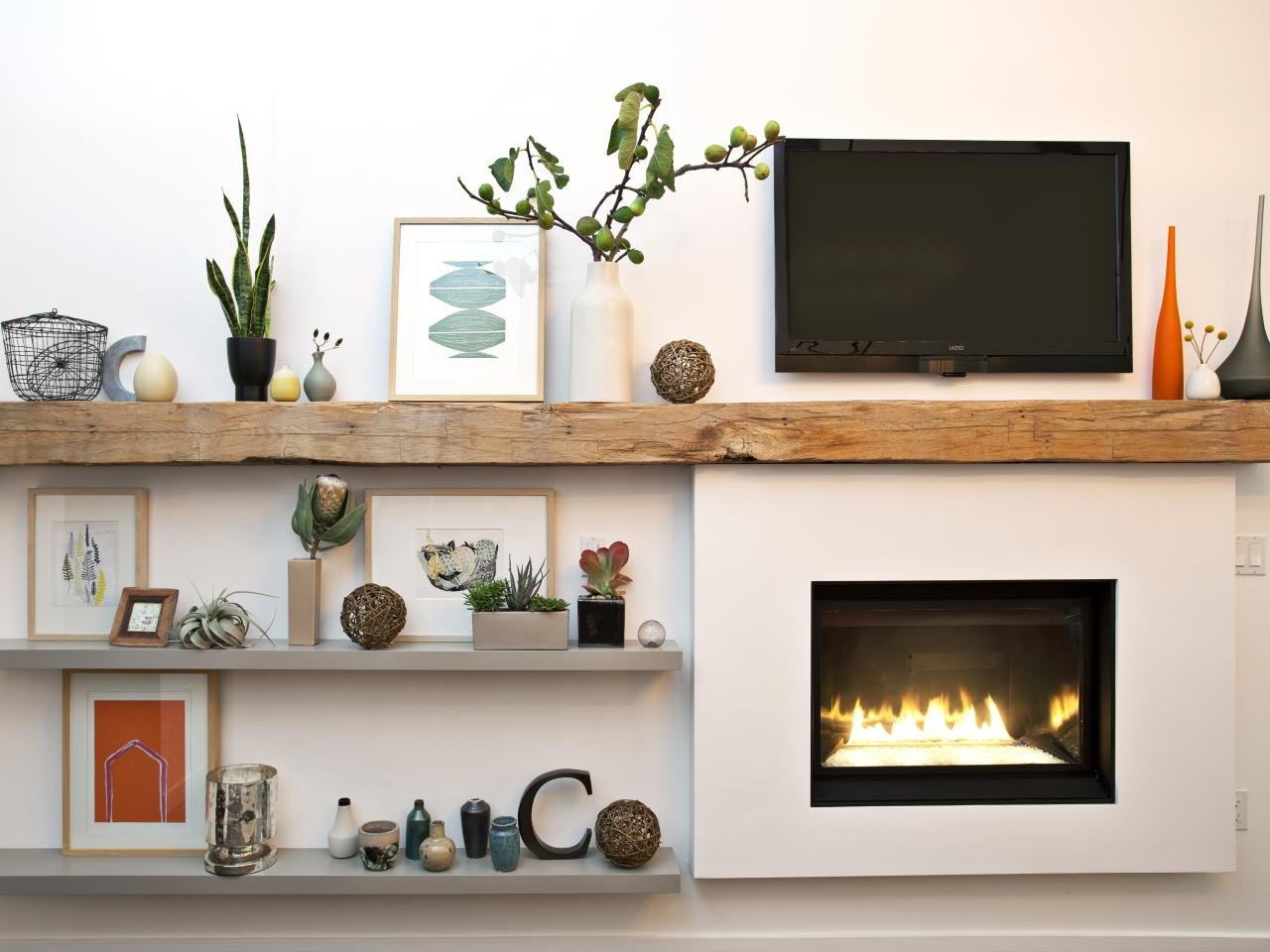 Modern Living Room Decorating Ideas Fireplace 15 Ideas for Decorating Your Mantel Year Round