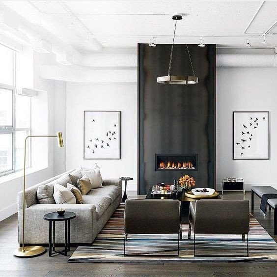 Modern Living Room Decorating Ideas Fireplace 25 Modern Living Rooms that Catch An Eye Digsdigs