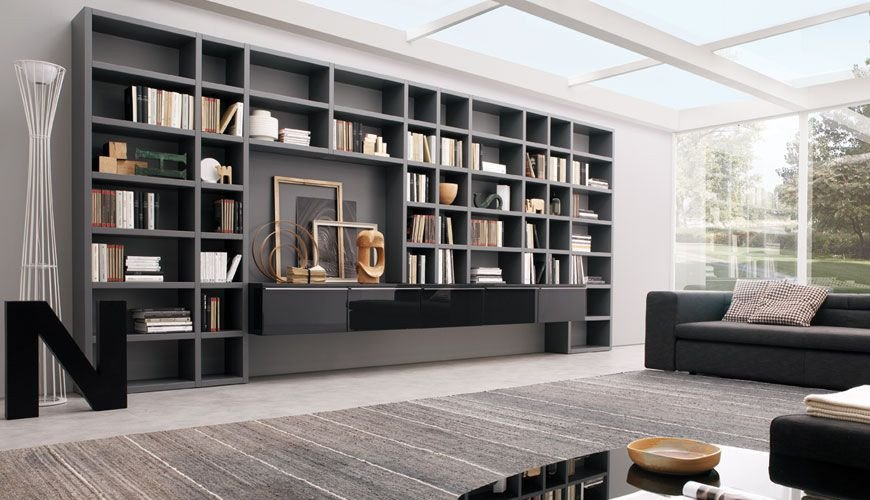 Modern Living Room Decorating Ideas Storage 20 Modern Living Room Wall Units for Book Storage From