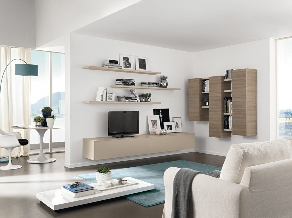 Modern Living Room Decorating Ideas Storage Modern Living Room Wall Units with Storage Inspiration