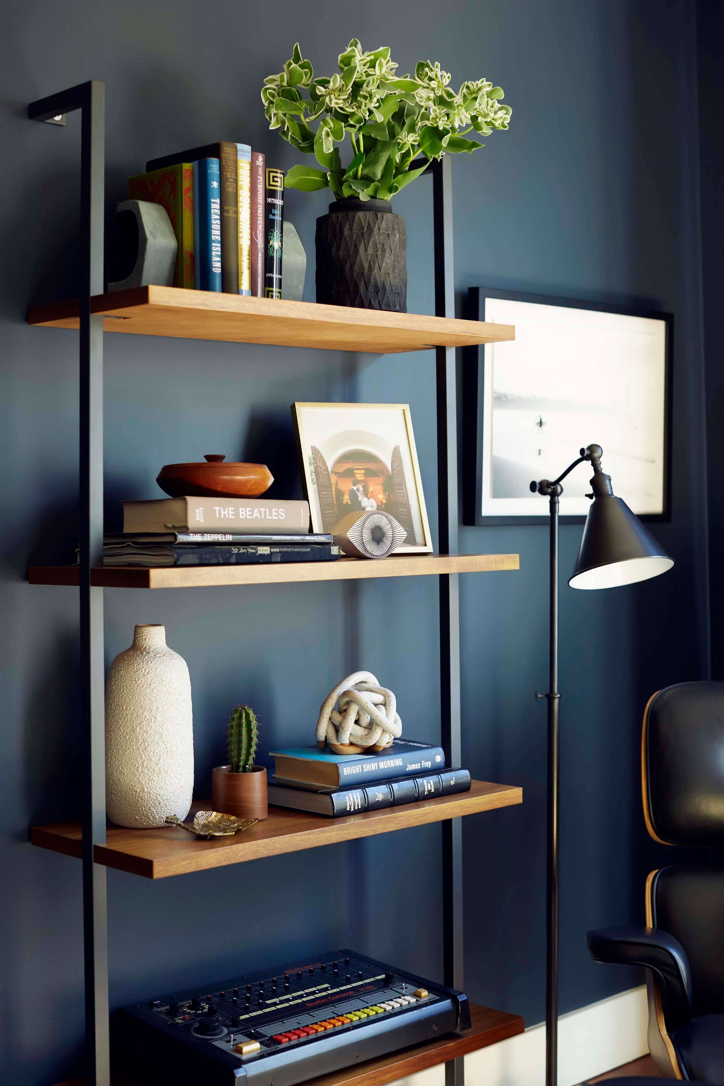 Modern Living Room Decorating Ideas Storage Moody Mid Century Home Fice Shop the Look