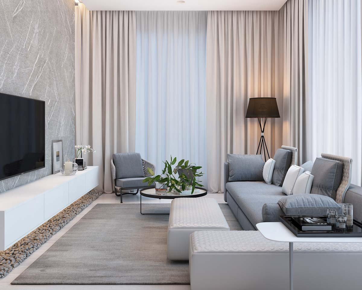 Modern Living Room Ideas Simple Modern Apartment with Pastel Colors Looks so Cozy