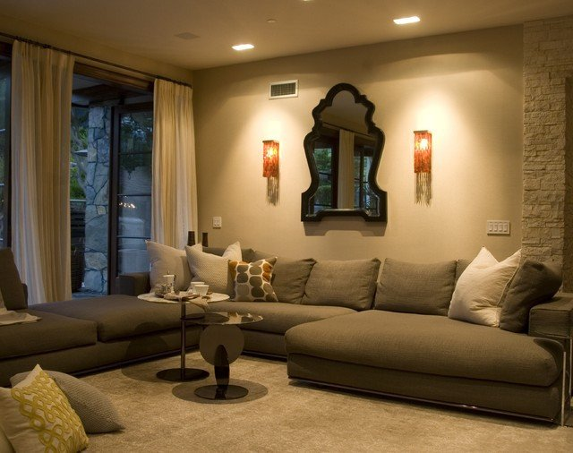 Modern Living Room Tuscan Decorating Ideas Contemporary Tuscan Contemporary Living Room Los