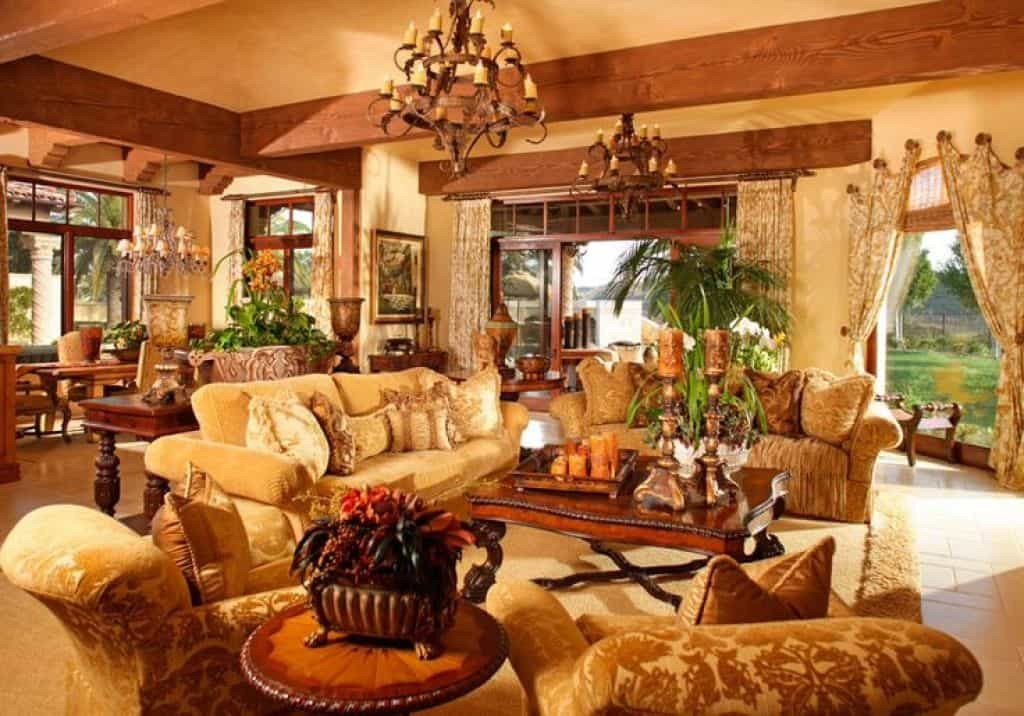 Modern Living Room Tuscan Decorating Ideas Tuscan Living Room with Upholstered sofas Choosing the
