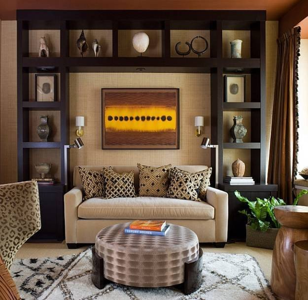 Modern Living Room Wall Decor 21 African Decorating Ideas for Modern Homes