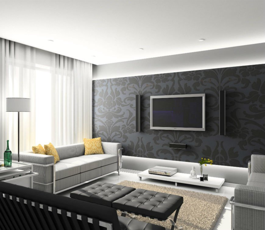 Modern Living Room Wall Decorating Ideas 15 Modern Living Room Decorating Ideas