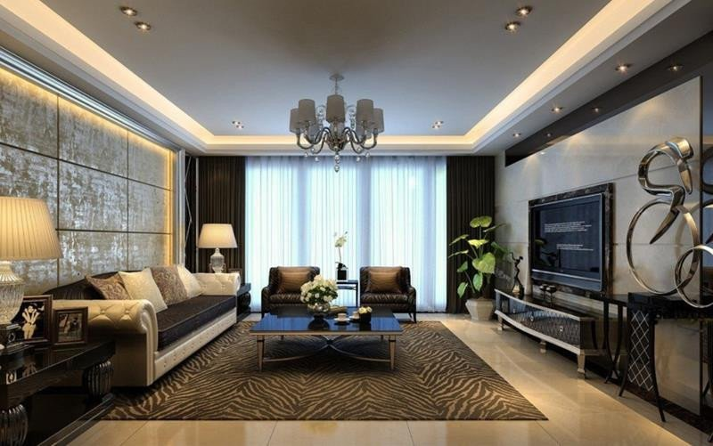 Modern Living Room Wall Decorating Ideas 50 Ideas for Modern Living Room Design
