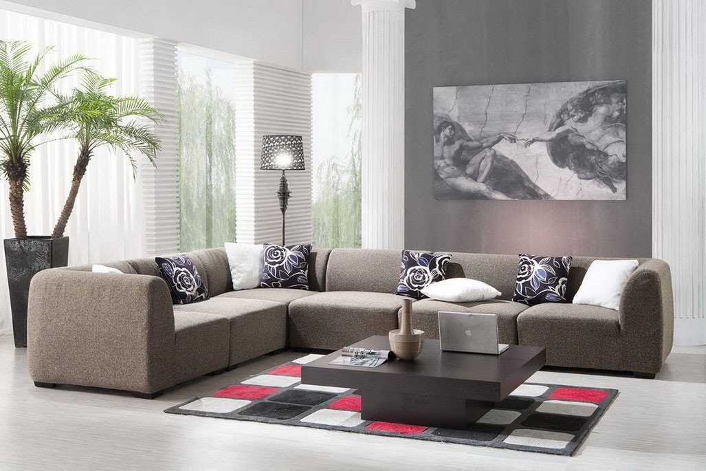 Modern Living Room Wall Decorating Ideas Contemporary Living Room Décor