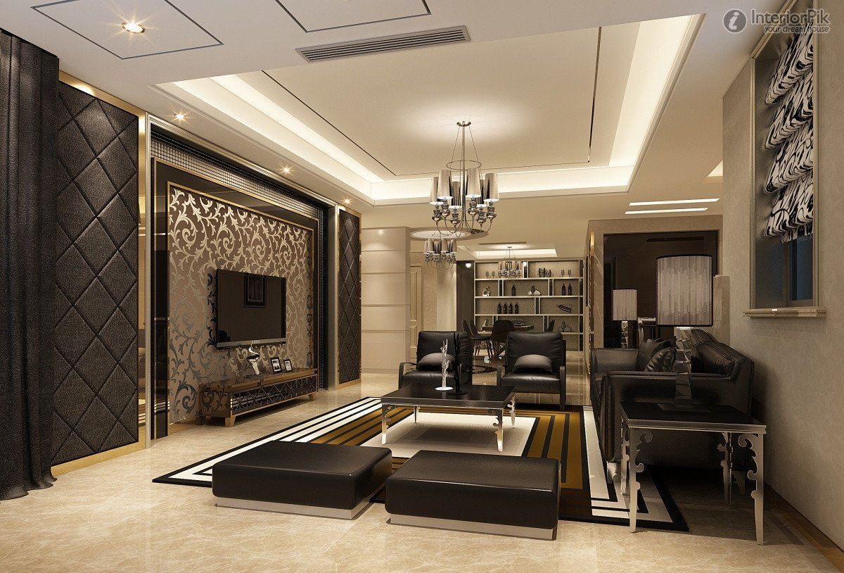 Modern Living Room Wall Decorating Ideas Mesmerizing Spectacular Modern Living Rooms – Amazing