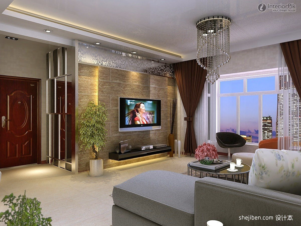 Modern Living Room Wall Decorating Ideas Modern Tv Walls Ideas Wikalo My Home Design and Decor