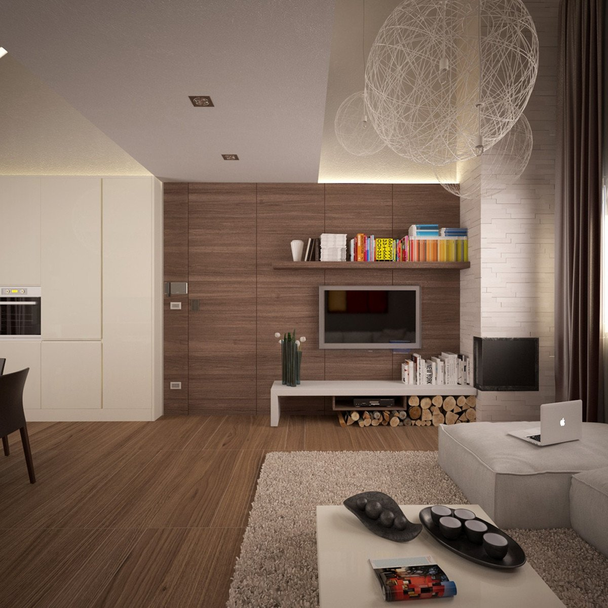 Modern Living Room Wall Decorating Ideas Small Apartments