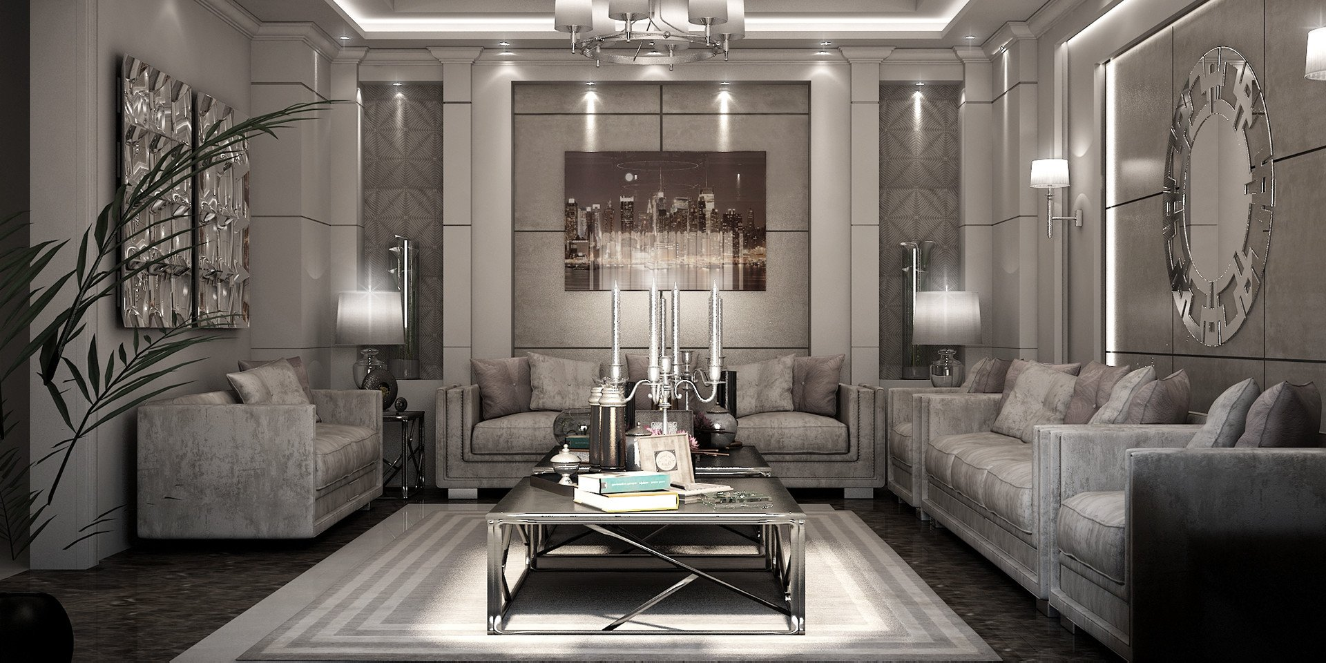 Modern Luxury Living Room Decorating Ideas Types Of Spacious Modern Living Room Designs which
