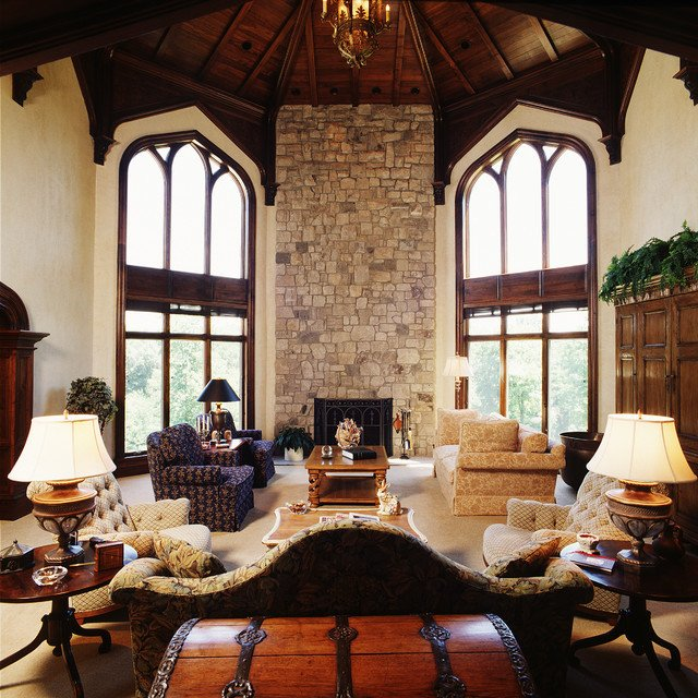 Modern Mediterranean Living Room Decorating Ideas A Modern Castle Mediterranean Living Room Cedar
