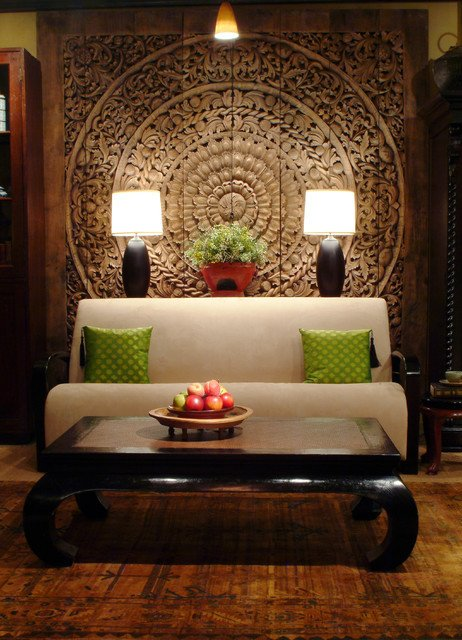 Modern oriental Living Room Decorating Ideas Thai Inspired Modern Design asian Living Room