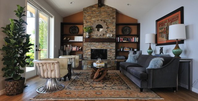 Modern Rustic Decor Living Room Modern Rustic Living Room Transitional Living Room
