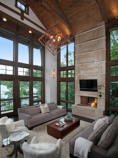 Modern Rustic Decor Living Room Modern Rustic