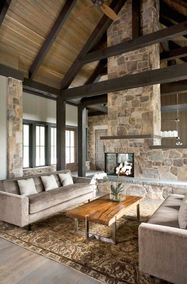 Modern Rustic Living Room Decorating Ideas 20 Stunning Rustic Living Room Design Ideas Feed Inspiration