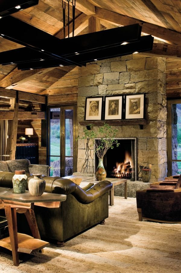 Modern Rustic Living Room Decorating Ideas 25 Rustic Living Room Design Ideas Decoration Love