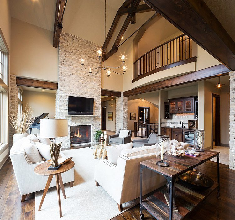 rustic living rooms ideas