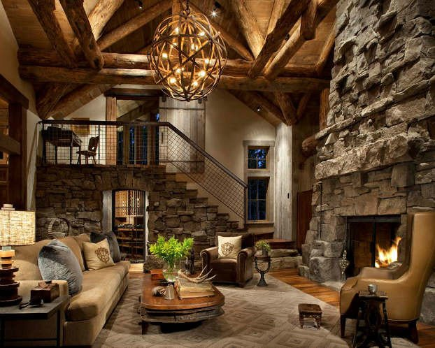 Modern Rustic Living Room Decorating Ideas 40 Awesome Rustic Living Room Decorating Ideas Decoholic