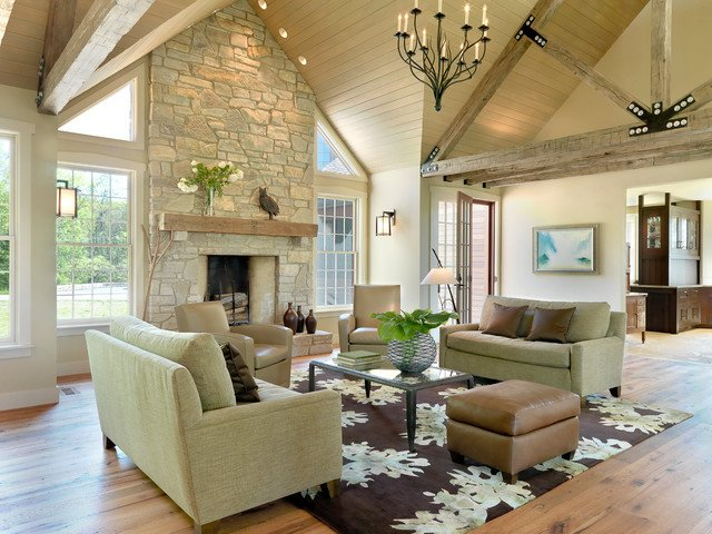 Modern Rustic Living Room Decorating Ideas Rustic Contemporary Contemporary Living Room St