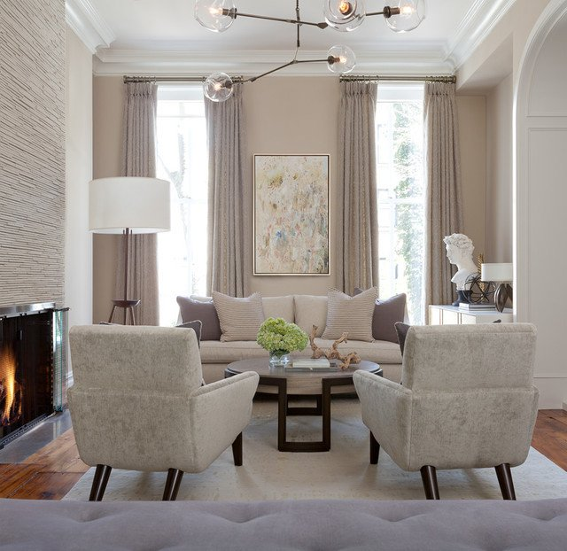 Modern Transitional Living Room Decorating Ideas Brooklyn Brownstone Transitional Living Room New