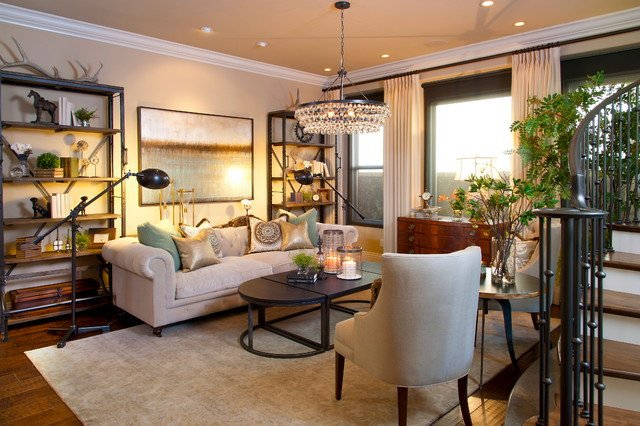 Modern Transitional Living Room Decorating Ideas Robeson Design Transitional Style Living Room