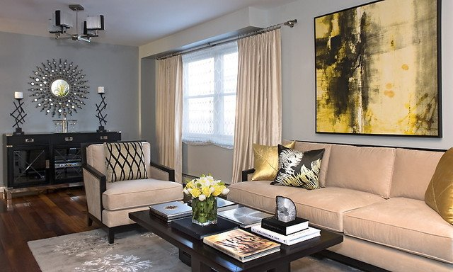 Modern Transitional Living Room Decorating Ideas Transitional Living Room Contemporary Living Room