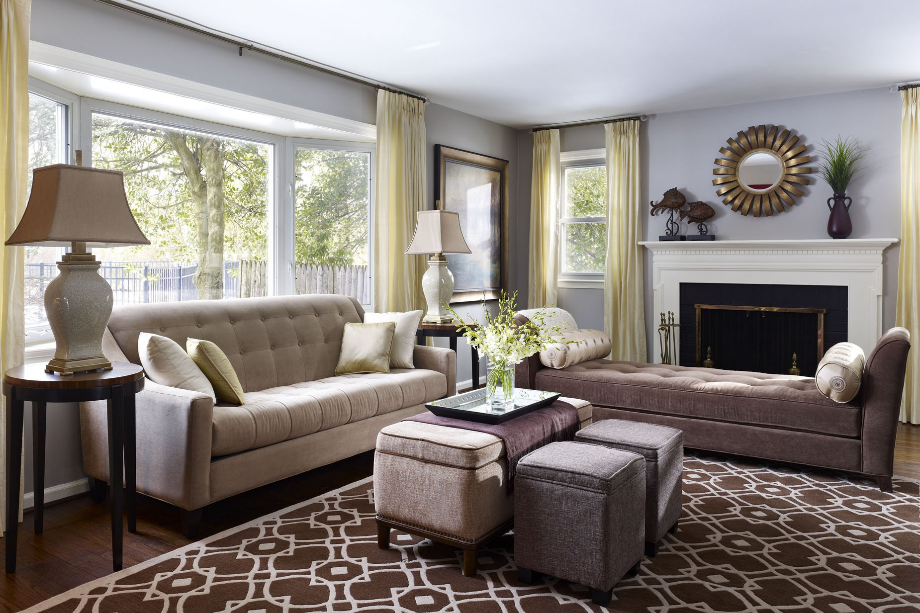 Modern Transitional Living Room Decorating Ideas What's Your Design Style is It Transitional