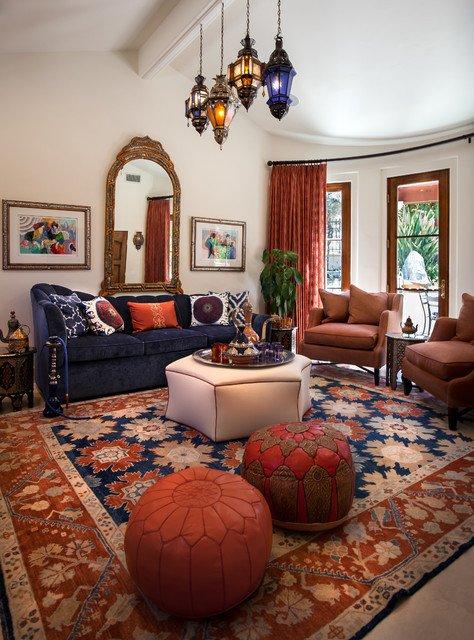 Moroccan Decor Ideas Living Room Moroccan Cabana Mediterranean Living Room Los