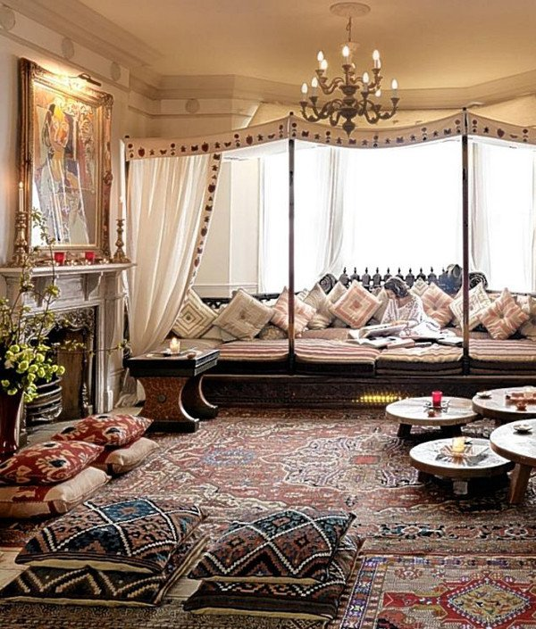 Moroccan Decor Ideas Living Room Moroccan Inspired Living Room Design Ideas