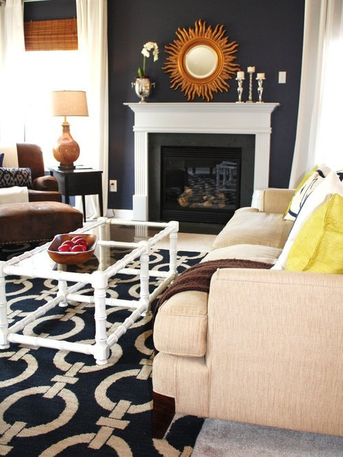 Navy Blue Living Room Decor Navy Blue and orange Ideas Remodel and Decor